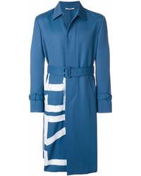 Gabardina azul de Valentino