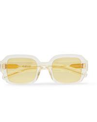 Gafas de sol amarillas de FLATLIST