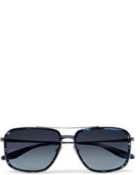 Gafas de sol azul marino de Barton Perreira