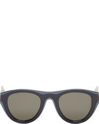Gafas de sol azul marino de Maison Margiela