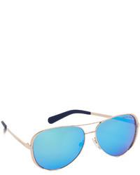 Gafas de sol azules de Michael Kors
