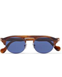 Gafas de sol azules de Moncler