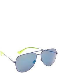 Gafas de sol azules de Saint Laurent