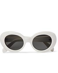 Gafas de sol blancas de Acne Studios