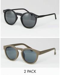 Gafas de sol blancas de Asos