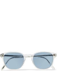 Gafas de sol blancas de Oliver Peoples
