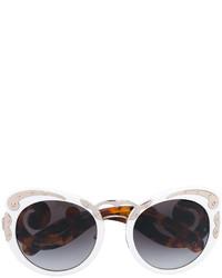 Gafas de sol blancas de Prada