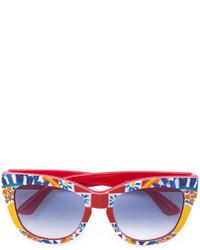 Gafas de sol burdeos