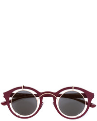 Gafas de sol burdeos de Mykita
