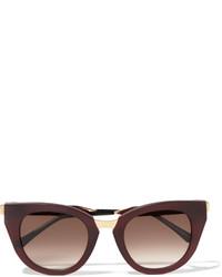 Gafas de sol burdeos de Thierry Lasry