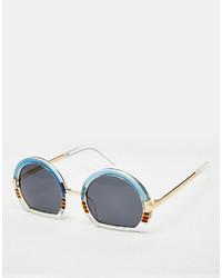 Gafas de sol celestes de Asos
