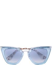 Gafas de sol celestes de Prada