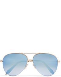Gafas de sol celestes de Victoria Beckham