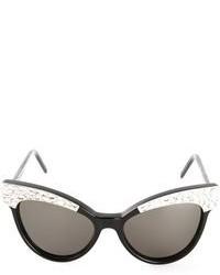 Gafas de Sol con Adornos Negras de Wildfox Couture