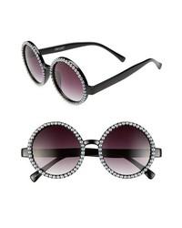 Gafas de sol con cuentas en negro y blanco