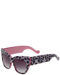 Gafas de sol de leopardo grises de Karlsson