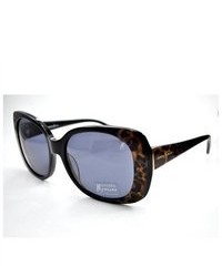 Gafas de sol de leopardo negras