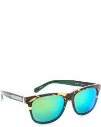 Gafas de sol de leopardo verdes de Marc by Marc Jacobs