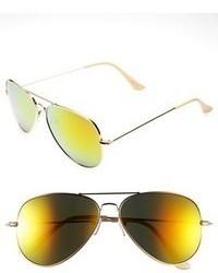 Gafas de sol doradas
