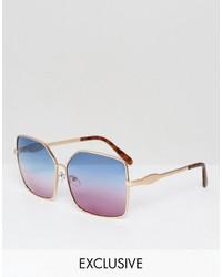 Gafas de sol doradas de A. J. Morgan