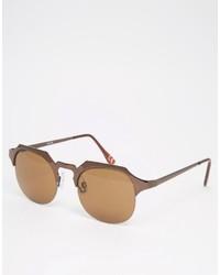 Gafas de sol doradas de Asos