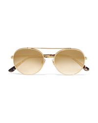 Gafas de sol doradas de Dolce & Gabbana
