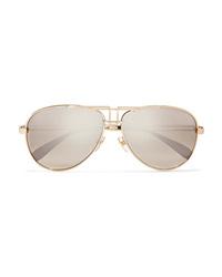 Gafas de sol doradas de Givenchy