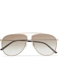 Gafas de sol doradas de Gucci