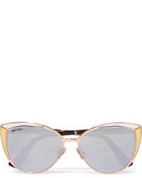 Gafas de sol doradas de Jimmy Choo