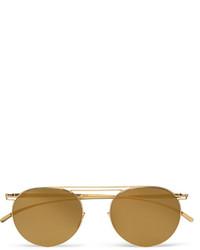 Gafas de Sol Doradas de Maison Margiela