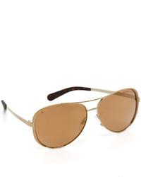 Gafas de sol doradas de Michael Kors