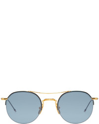 Gafas de sol doradas de Thom Browne