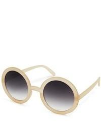 Gafas de sol en beige de Asos