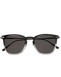 Gafas de sol en gris oscuro de Bottega Veneta
