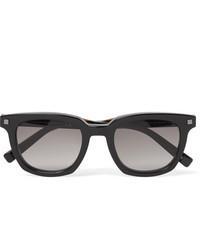 Gafas de sol en gris oscuro de Ermenegildo Zegna