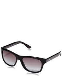 Gafas de sol en gris oscuro de Gucci