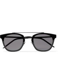 Gafas de sol en gris oscuro de Saint Laurent