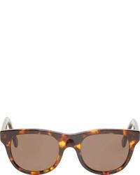 Gafas de sol en marrón oscuro de A.P.C.