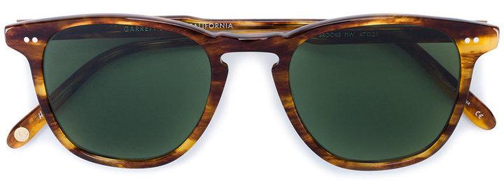 Gafas de sol en marrón oscuro de Garrett Leight
