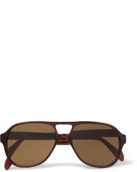 Gafas de sol en marrón oscuro de L.G.R
