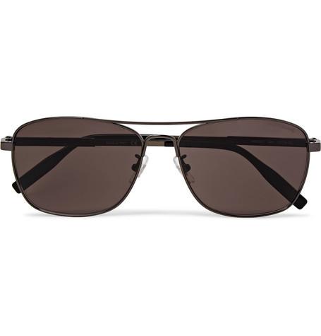 Gafas de sol en marrón oscuro de Montblanc