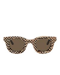 Gafas de sol en marrón oscuro de Rhude