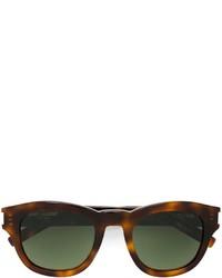Gafas de sol en marrón oscuro de Saint Laurent
