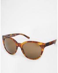 Gafas de sol en marrón oscuro de Versace
