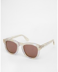 Gafas de sol en marrón oscuro de Wildfox Couture