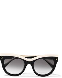 Gafas de sol en negro y blanco de Stella McCartney