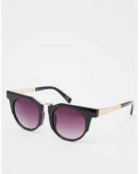 Gafas de sol en negro y dorado de Jeepers Peepers