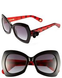Gafas de sol en rojo y negro