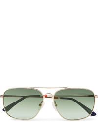 Gafas de sol en verde menta de Orlebar Brown