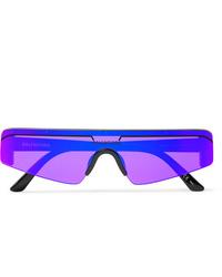 Gafas de sol en violeta de Balenciaga